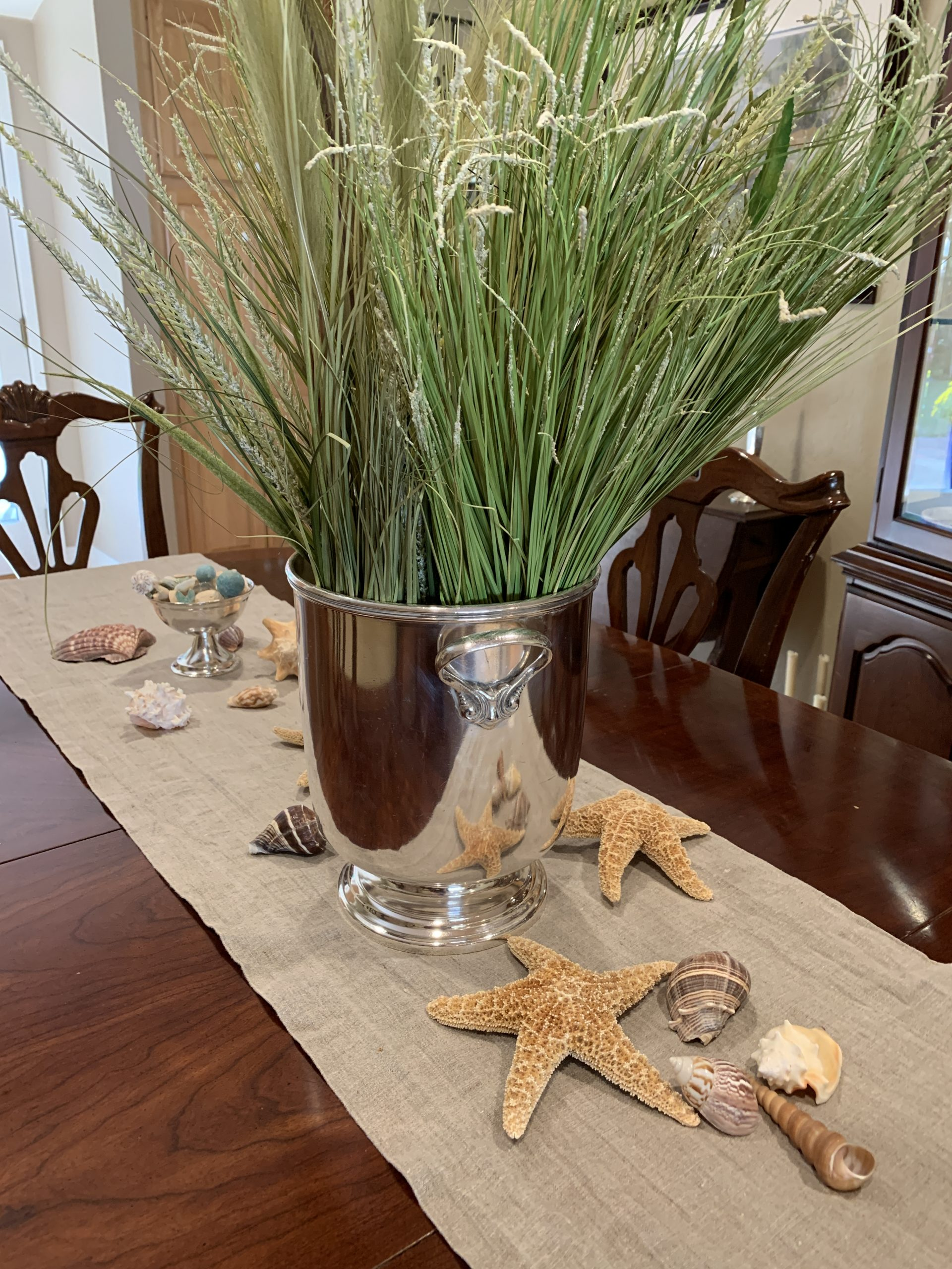 Decorate with antique silver every season!